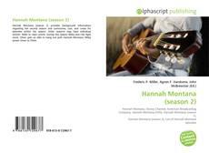 Capa do livro de Hannah Montana (season 2)