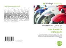 Couverture de Feet forwards motorcycle