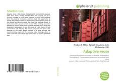 Capa do livro de Adaptive reuse