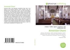 Portada del libro de Armenian Chant