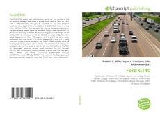 Bookcover of Ford GT40
