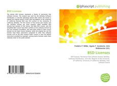 Bookcover of BSD Licenses