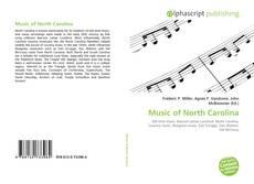 Buchcover von Music of North Carolina