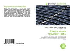 Bookcover of Brigham Young University–Idaho