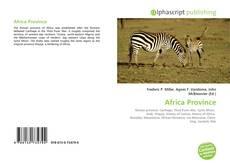 Couverture de Africa Province