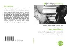 Bookcover of Barry Wellman