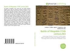 Bookcover of Battle of Megiddo (15th century BC)