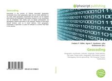 Borítókép a  Geocoding - hoz
