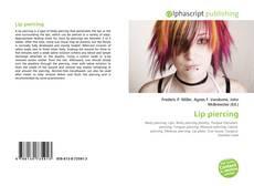 Capa do livro de Lip piercing