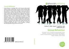 Обложка Group Behaviour