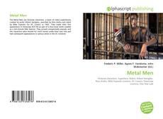 Portada del libro de Metal Men