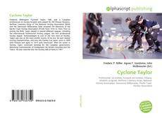 Bookcover of Cyclone Taylor