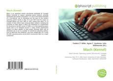 Bookcover of Mach (Kernel)