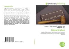 Bookcover of Liberalization