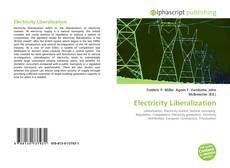 Bookcover of Electricity Liberalization