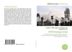 Bookcover of 1979 Energy Crisis