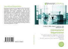 Bookcover of International Organization