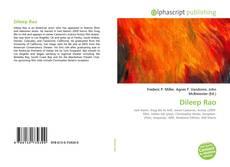 Bookcover of Dileep Rao