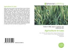 Bookcover of Agriculture in Laos