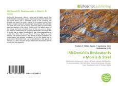 Обложка McDonald's Restaurants v Morris