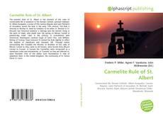 Bookcover of Carmelite Rule of St. Albert