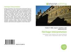Heritage Interpretation的封面