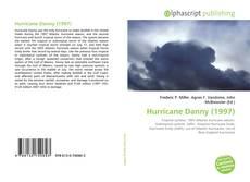 Portada del libro de Hurricane Danny (1997)