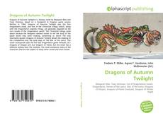Buchcover von Dragons of Autumn Twilight