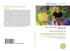 Capa do livro de Informatique et Développement Durable