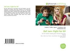 Bookcover of Def Jam: Fight for NY