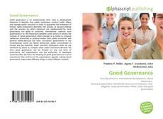 Bookcover of Good Governance