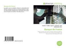Banque de France kitap kapağı