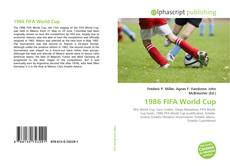 Bookcover of 1986 FIFA World Cup