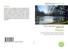 Capa do livro de Belgique