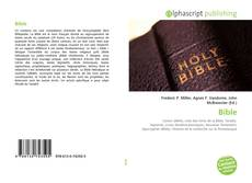 Bookcover of Bible