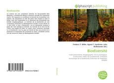 Buchcover von Biodiversité