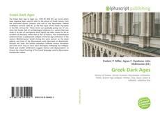 Greek Dark Ages的封面