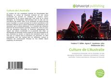 Capa do livro de Culture de L'Australie
