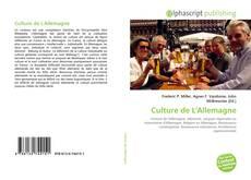 Couverture de Culture de L'Allemagne