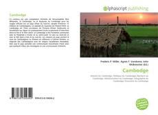 Bookcover of Cambodge