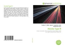 Bookcover of Honda Type R