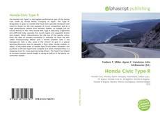 Capa do livro de Honda Civic Type R