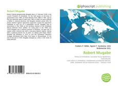 Bookcover of Robert Mugabe
