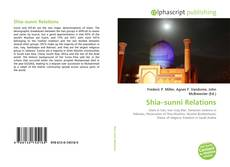 Bookcover of Shia–sunni Relations