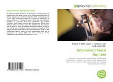Borítókép a  Internment Serial Number - hoz