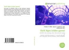 Capa do livro de Dark Ages (video game)