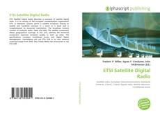 Capa do livro de ETSI Satellite Digital Radio