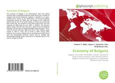 Copertina di Economy of Bulgaria