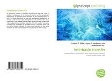Couverture de Interbasin transfer