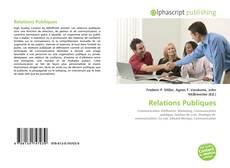 Borítókép a  Relations Publiques - hoz